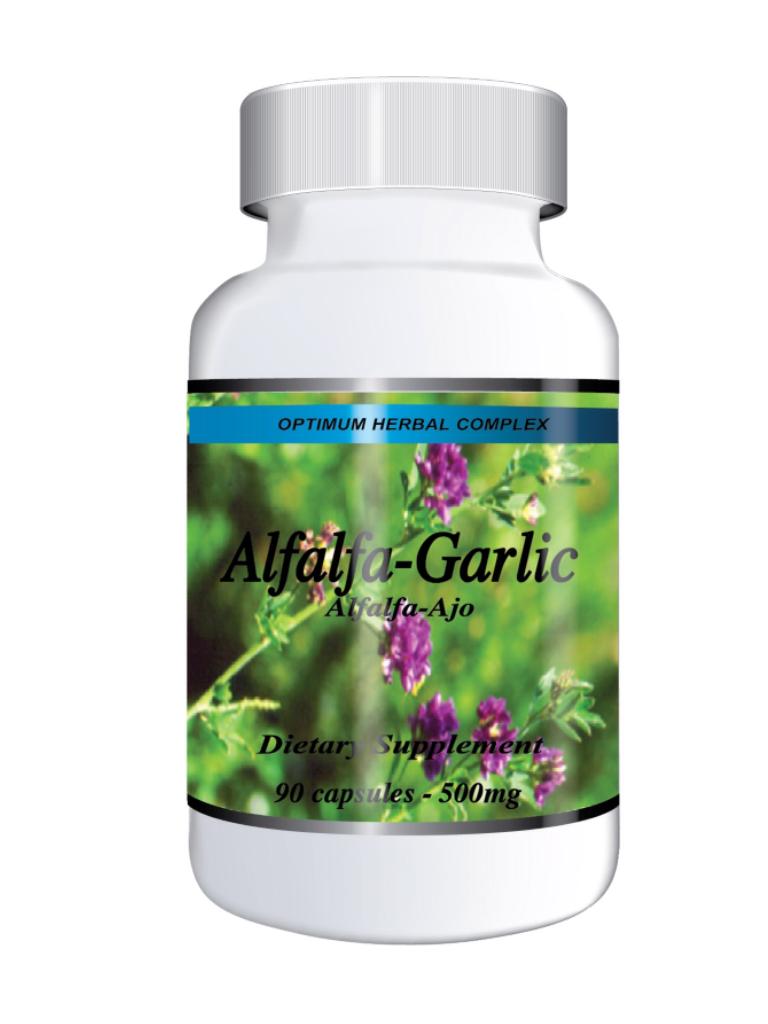 Alfalfa-Garlic 90 capsules 500mg