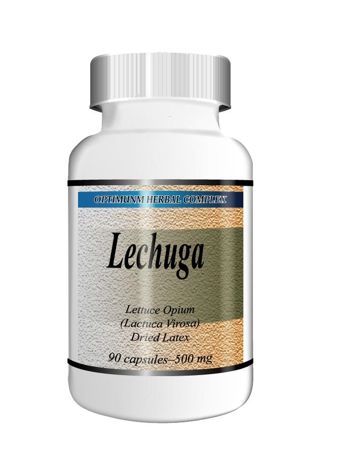 Lechuga 90 capsules 500mg