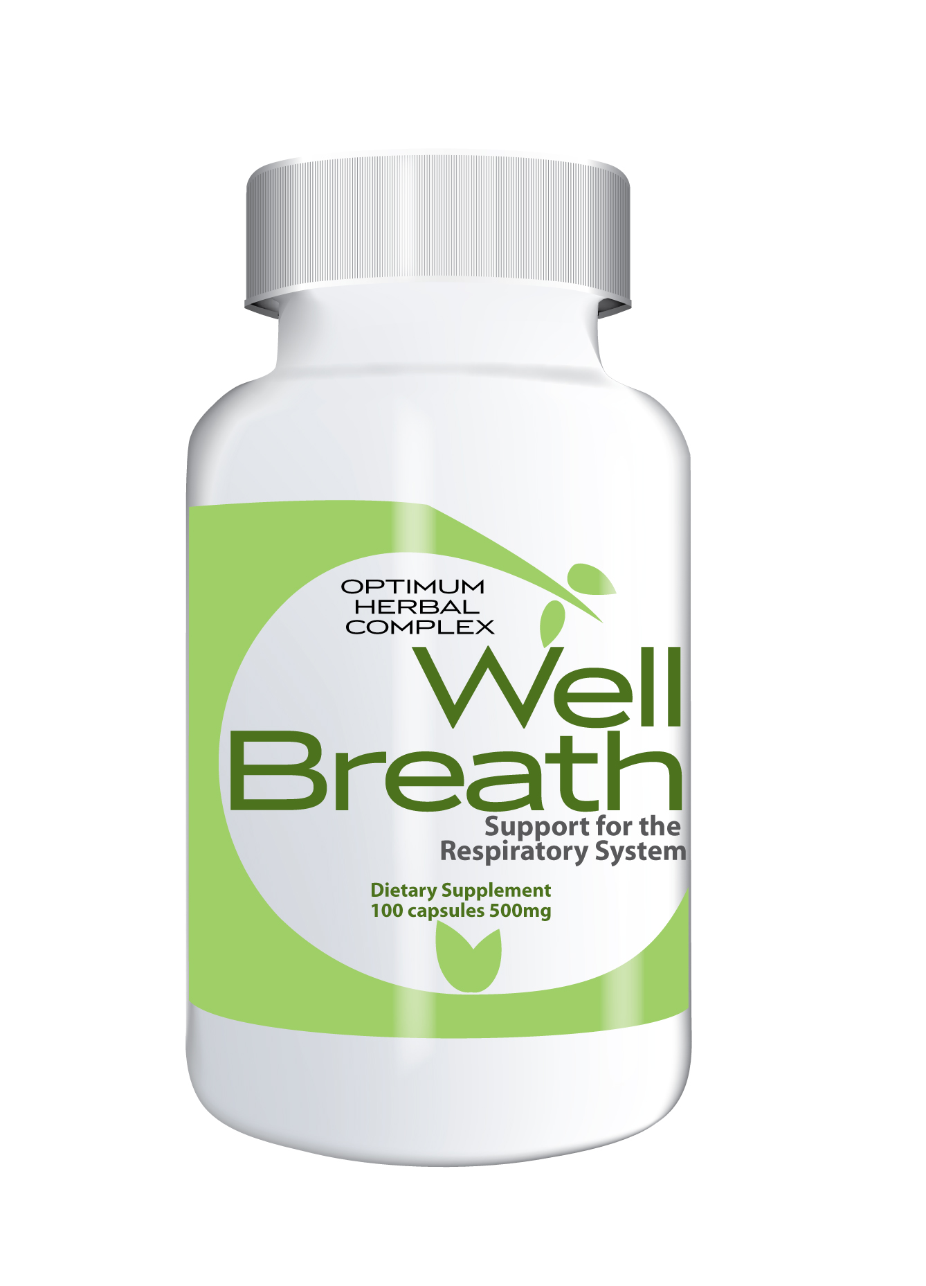 Wellbreath 100 capsules 500mg