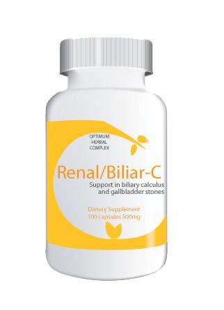 Renal/Biliar-C 100 capsules 500mg
