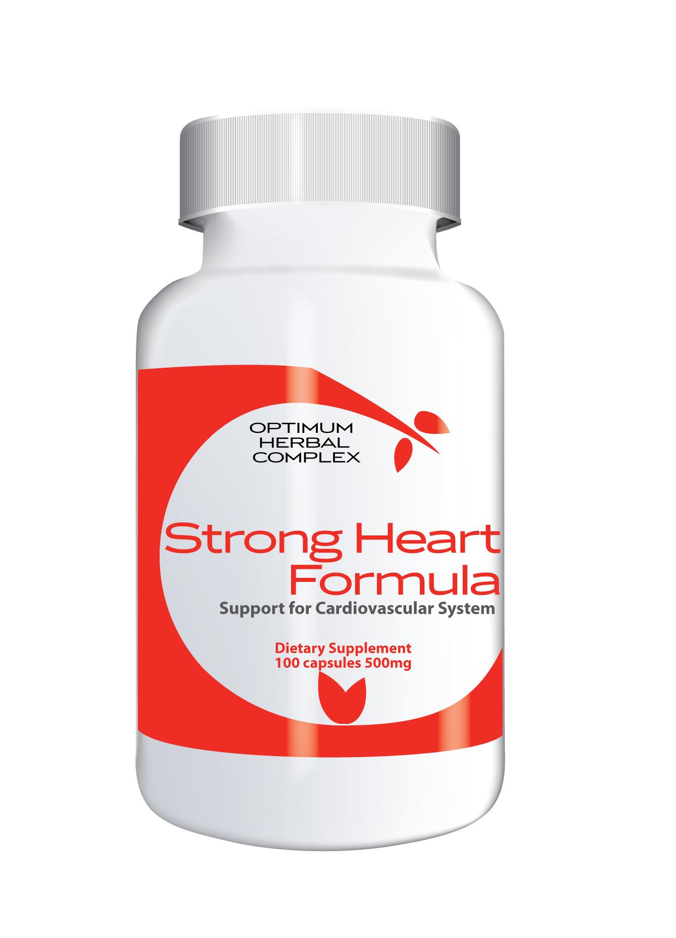Strong Heart Formula 100 capsules 500mg