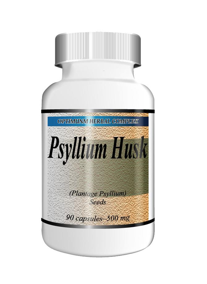Psyllium 90 capsules 500mg