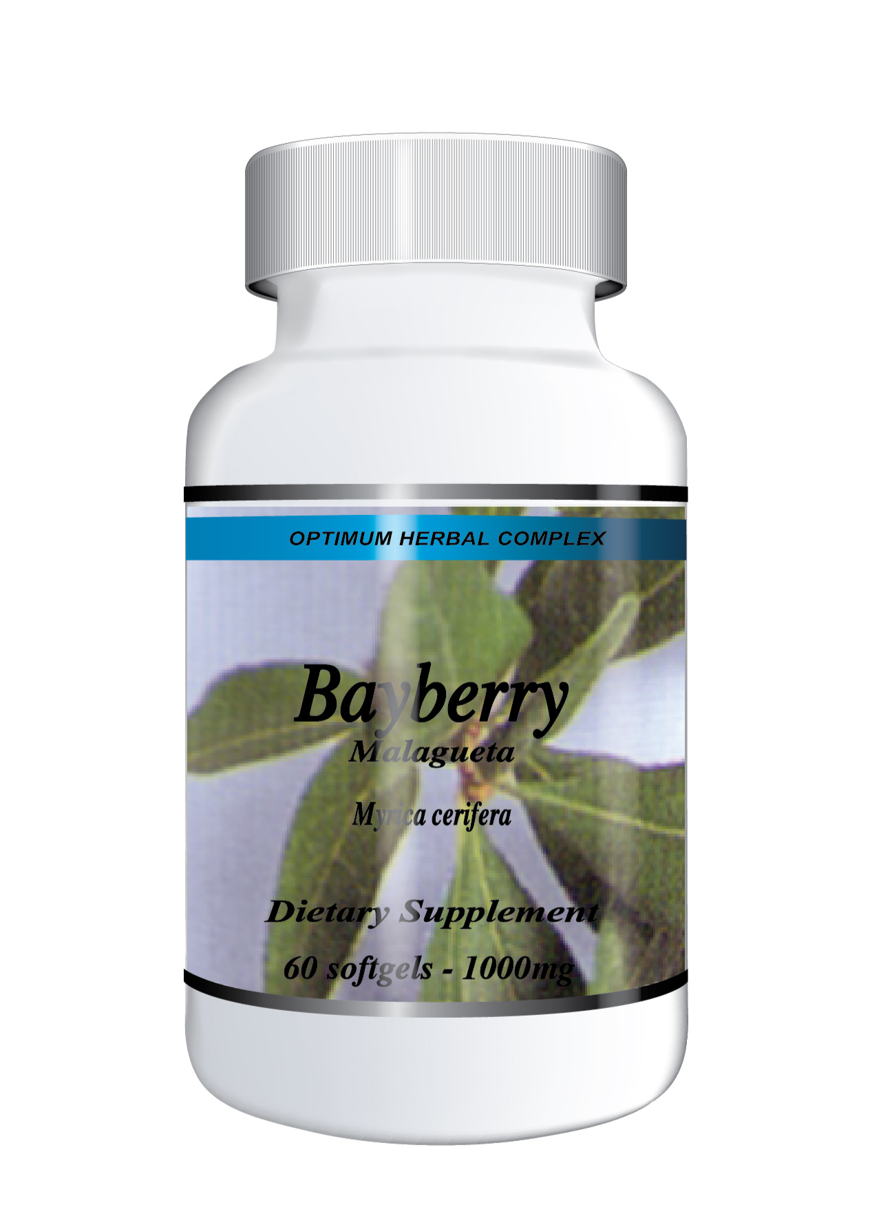 Bayberry 60 capsules 500mg