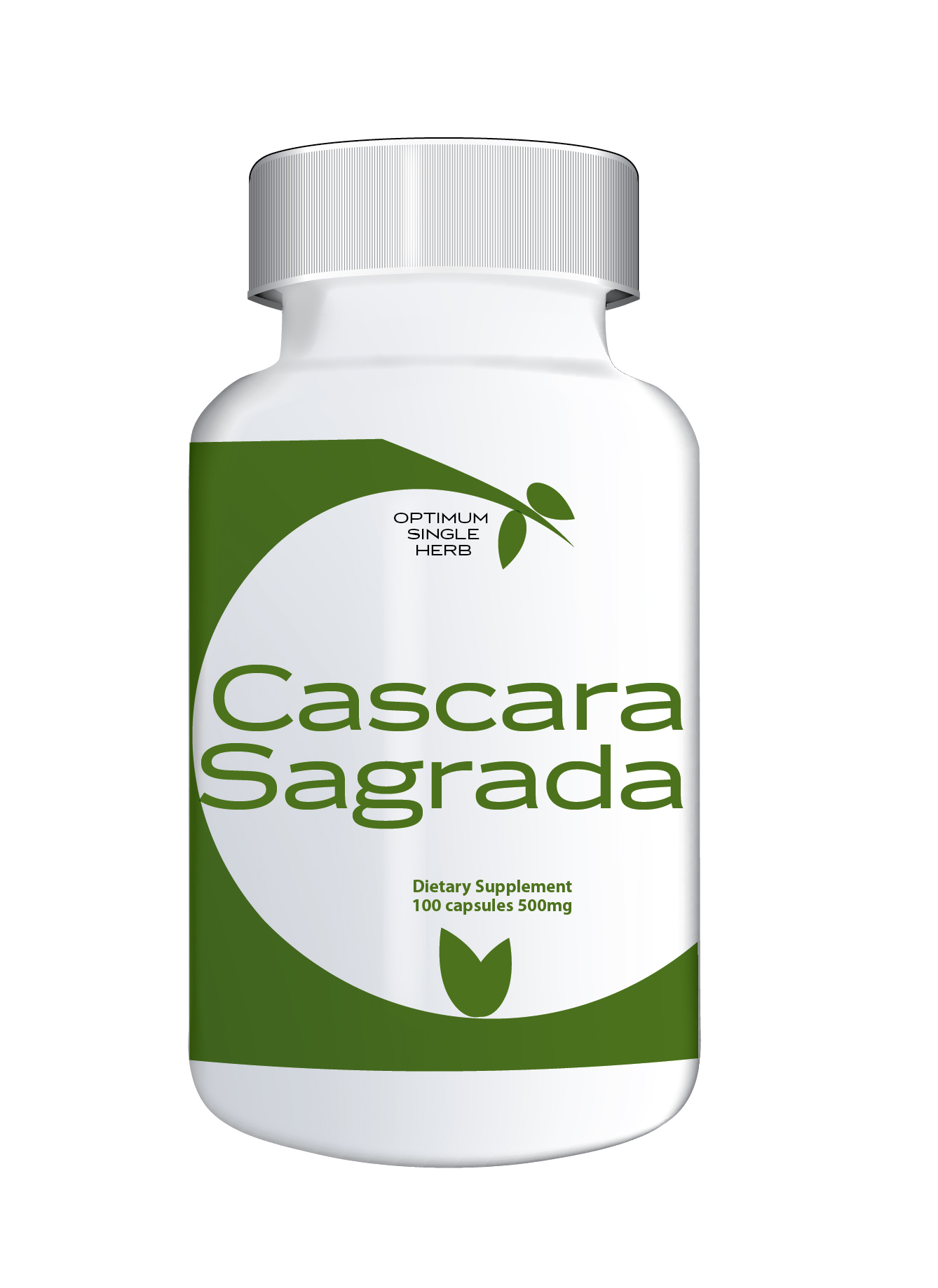 Cascara Sagrada 100 capsules 500mg