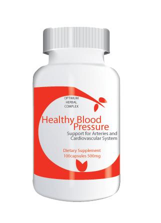 Healthy Blood Pressure 100 capsules 500mg
