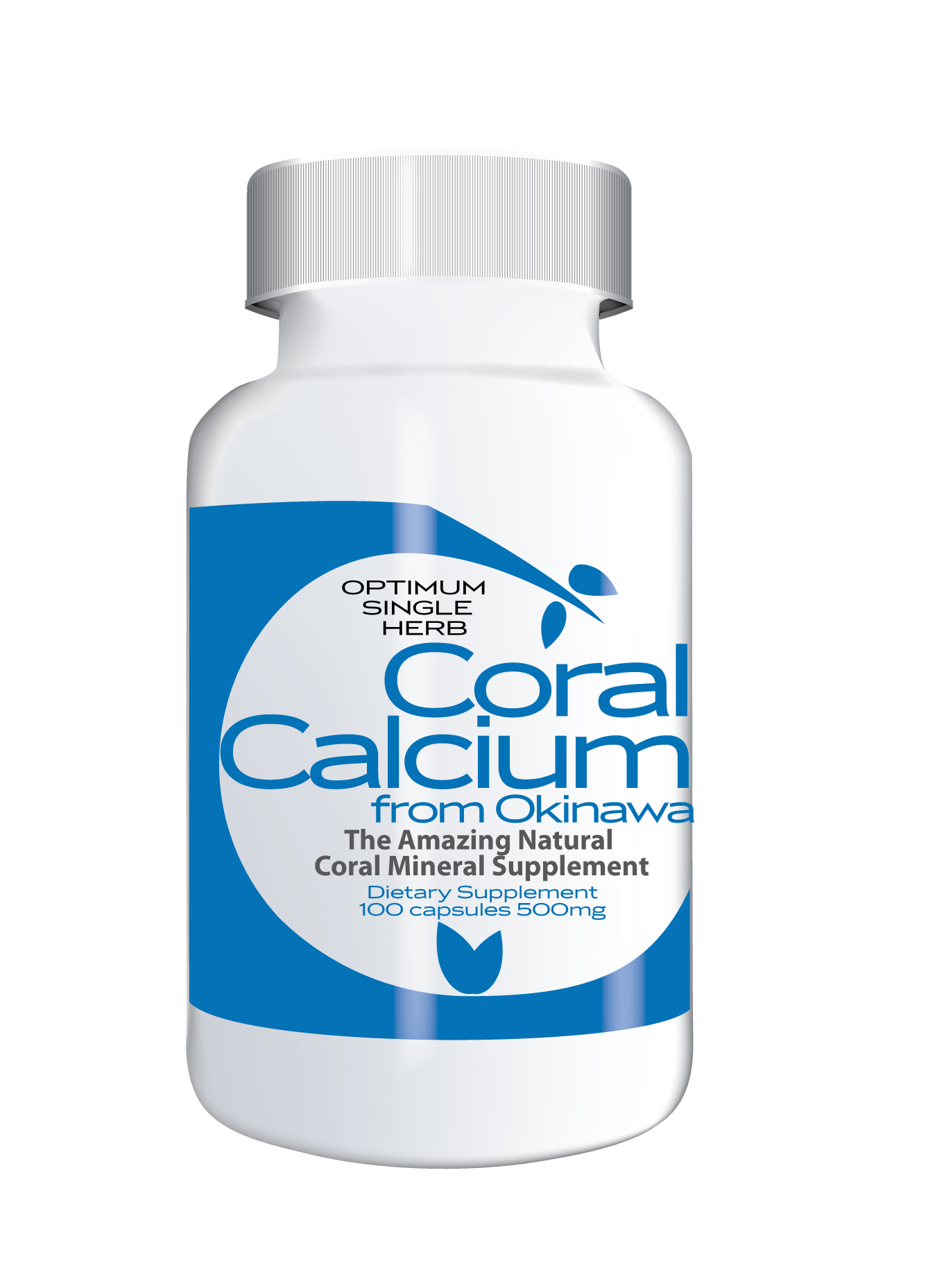 Coral Calcium from Okinawa 100 capsules 1000mg