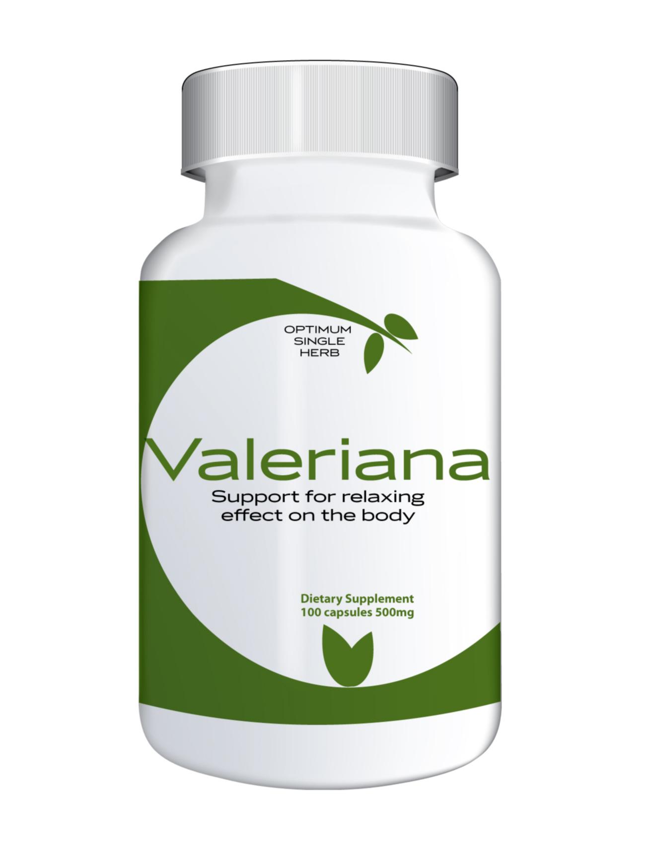 Valeriana 100 capsules 500mg