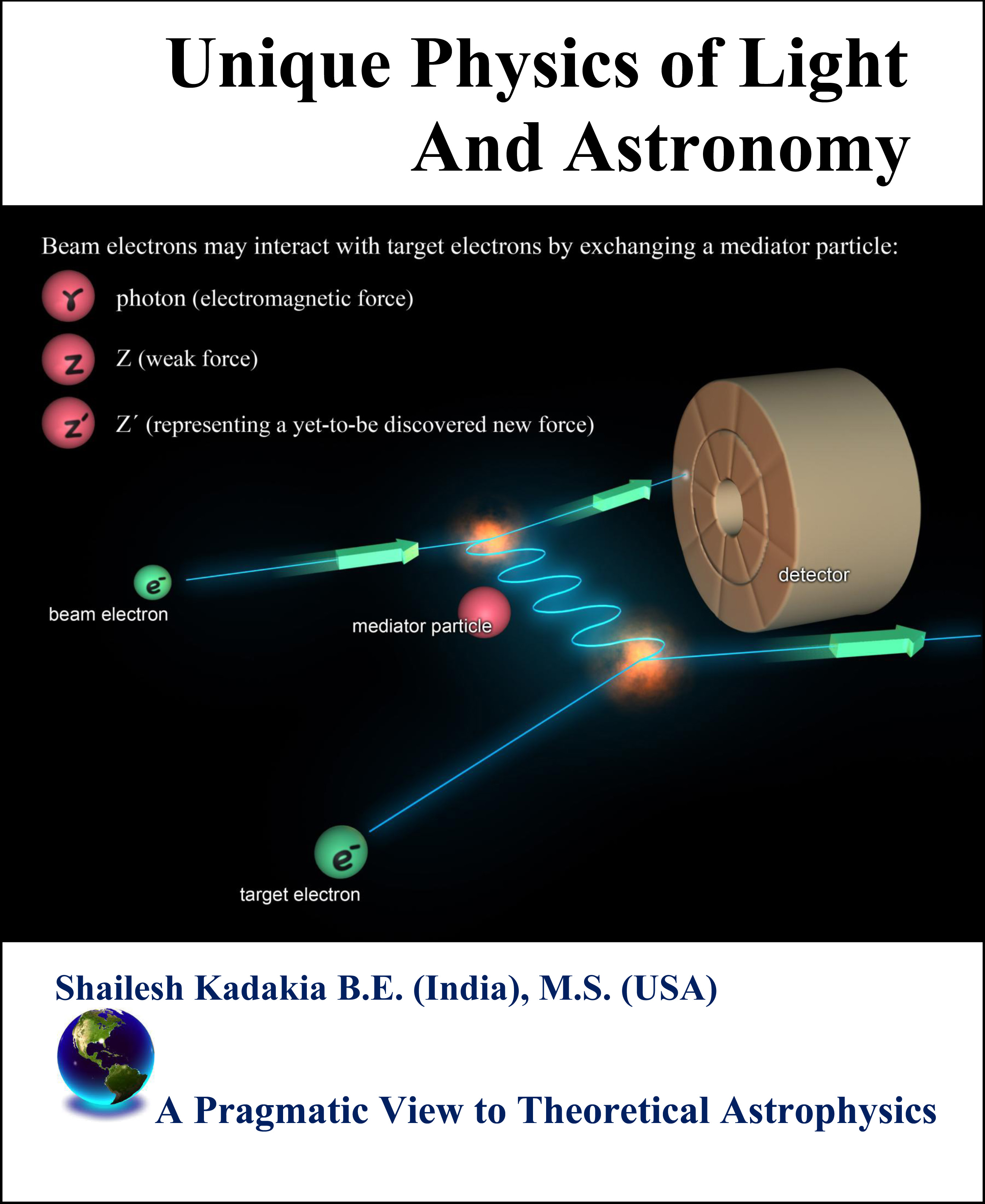 Unique Physics of Light and Astronomy, Hard Cover Text Book