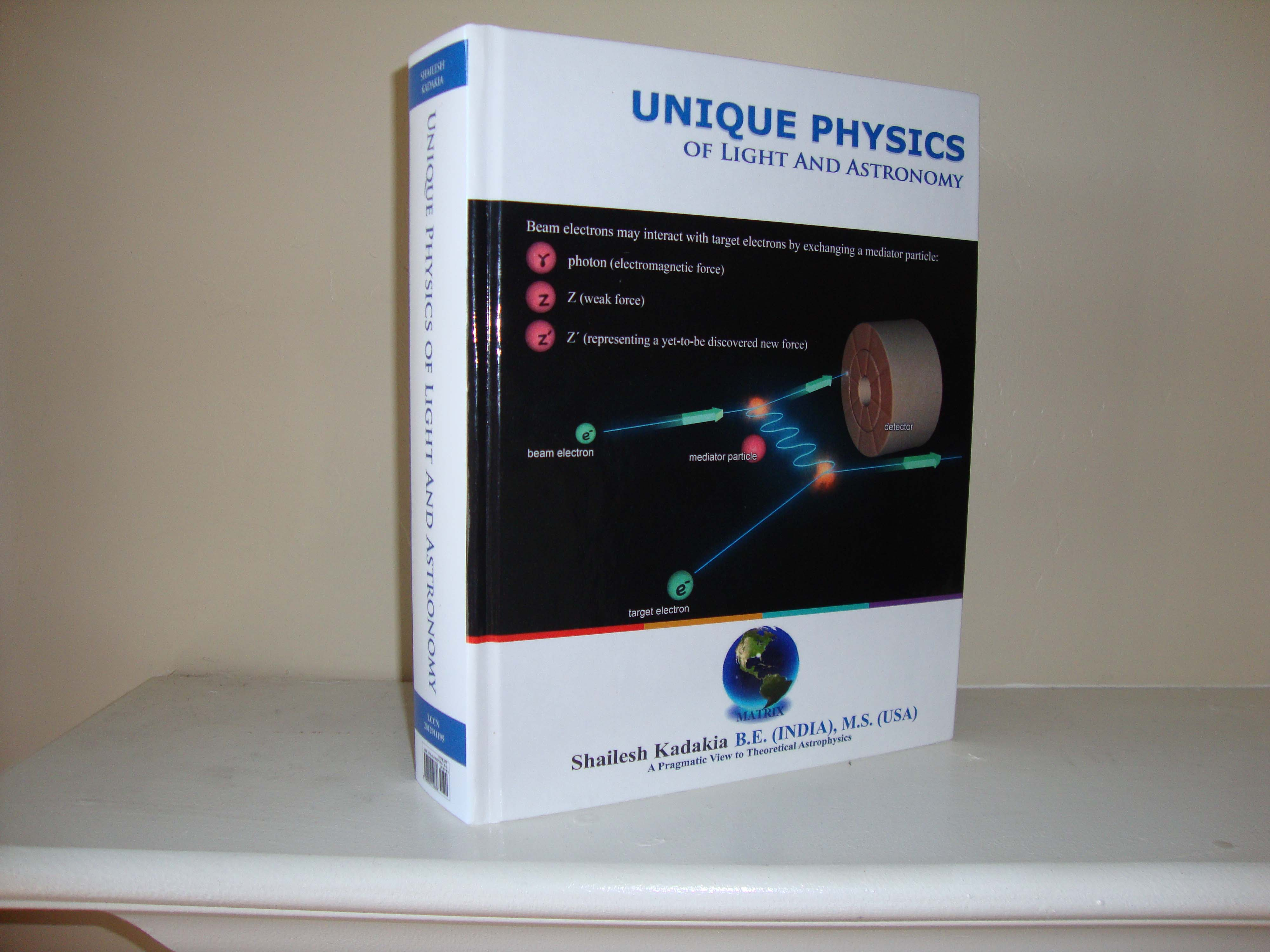 Unique Physics of Light and Astronomy, Book on a Flash drive