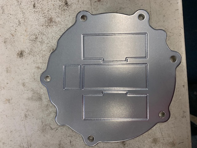 IH 466  Front Pump Plate Cover