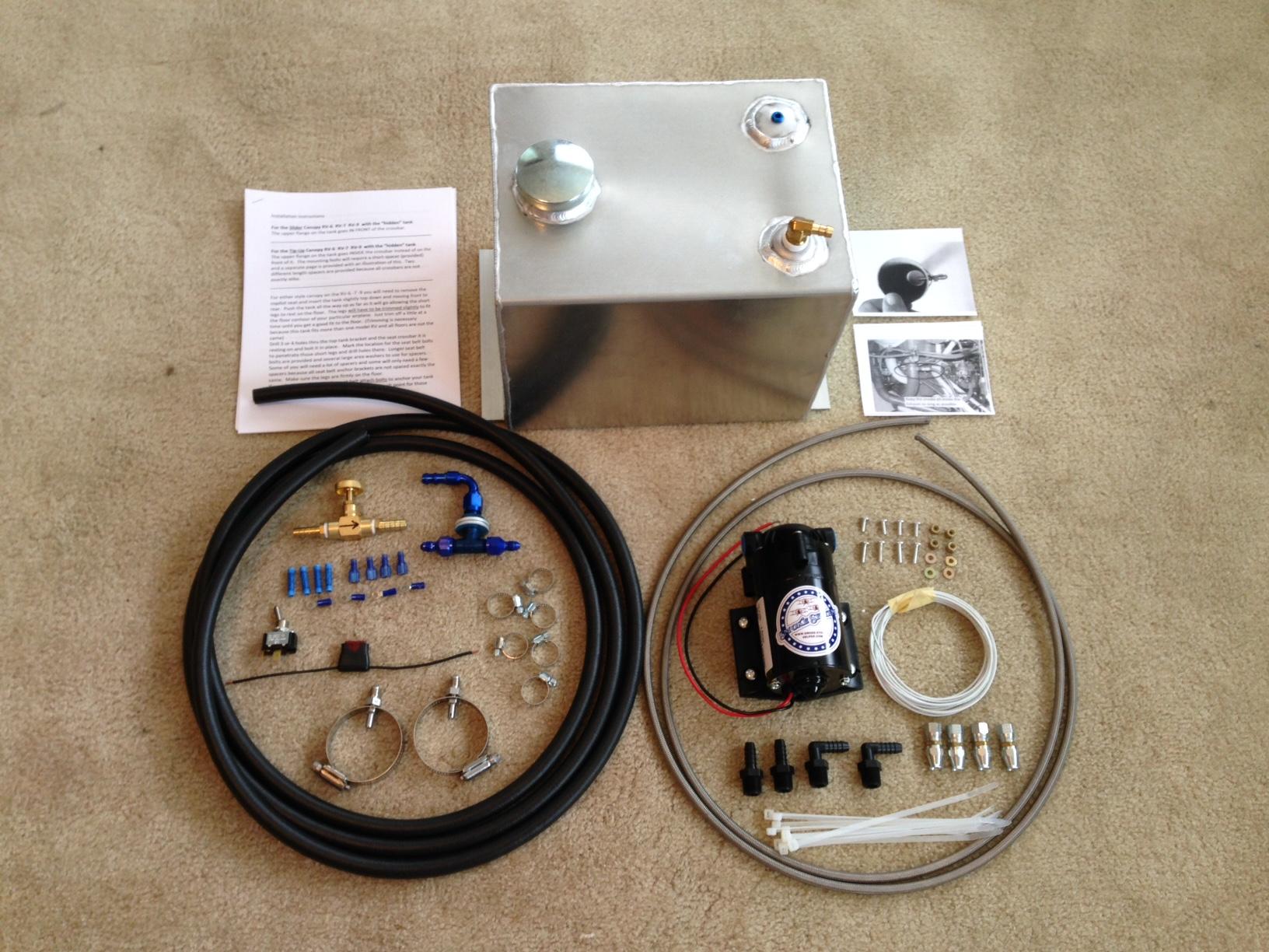 Complete kit 3 gallon universal tank