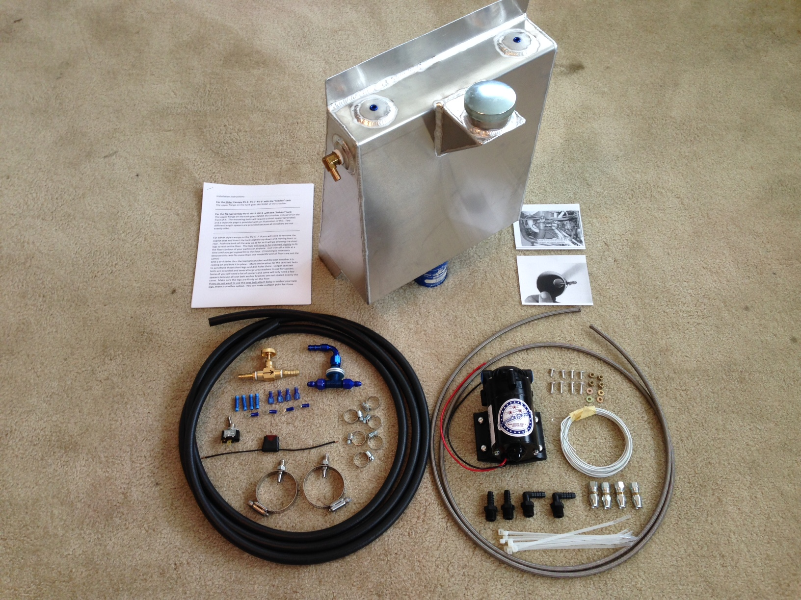 Complete kit for RV-6-7-9    4.25 gallons
