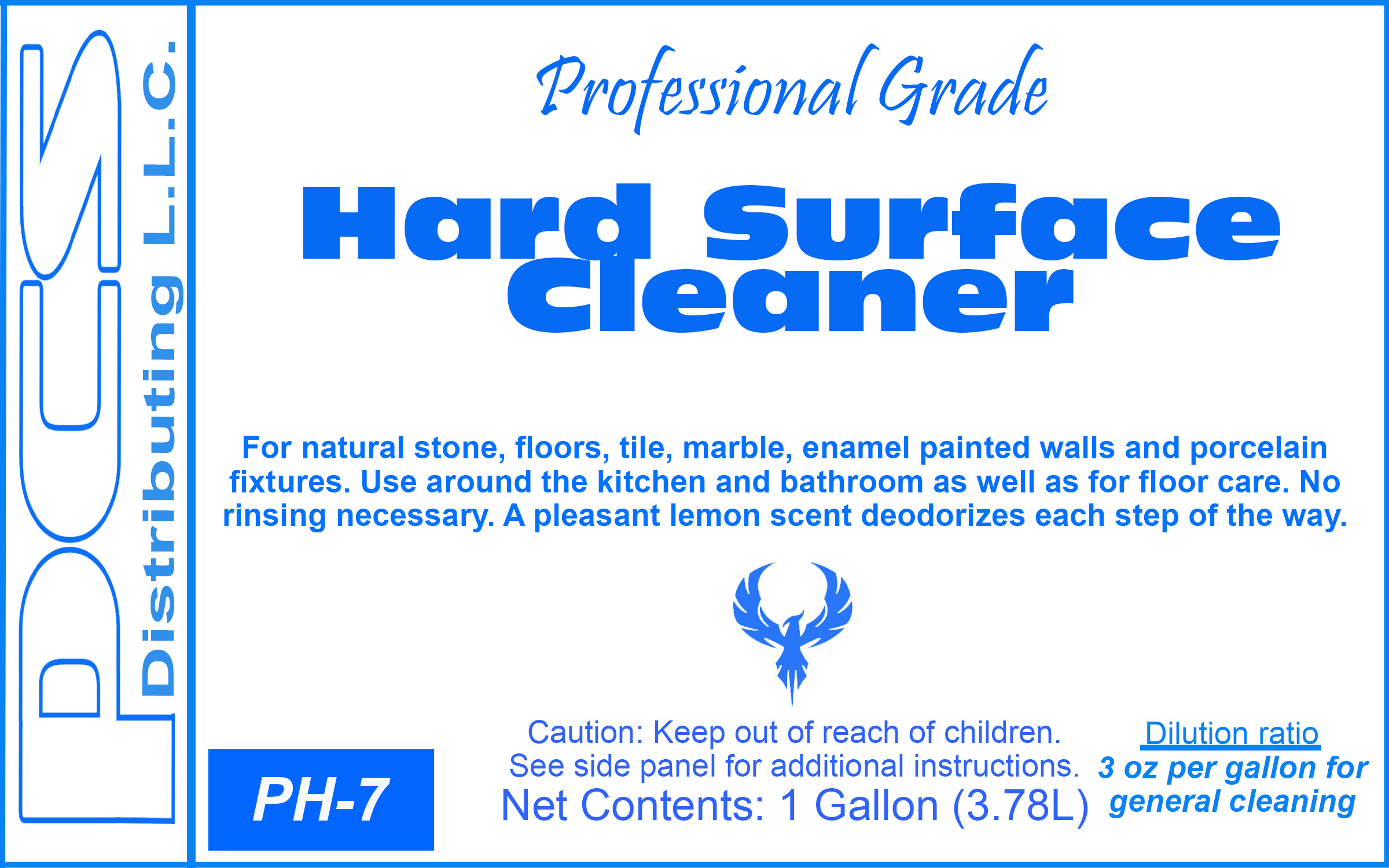 PCSD Hard Surface Cleaner-Pro Grade-gal