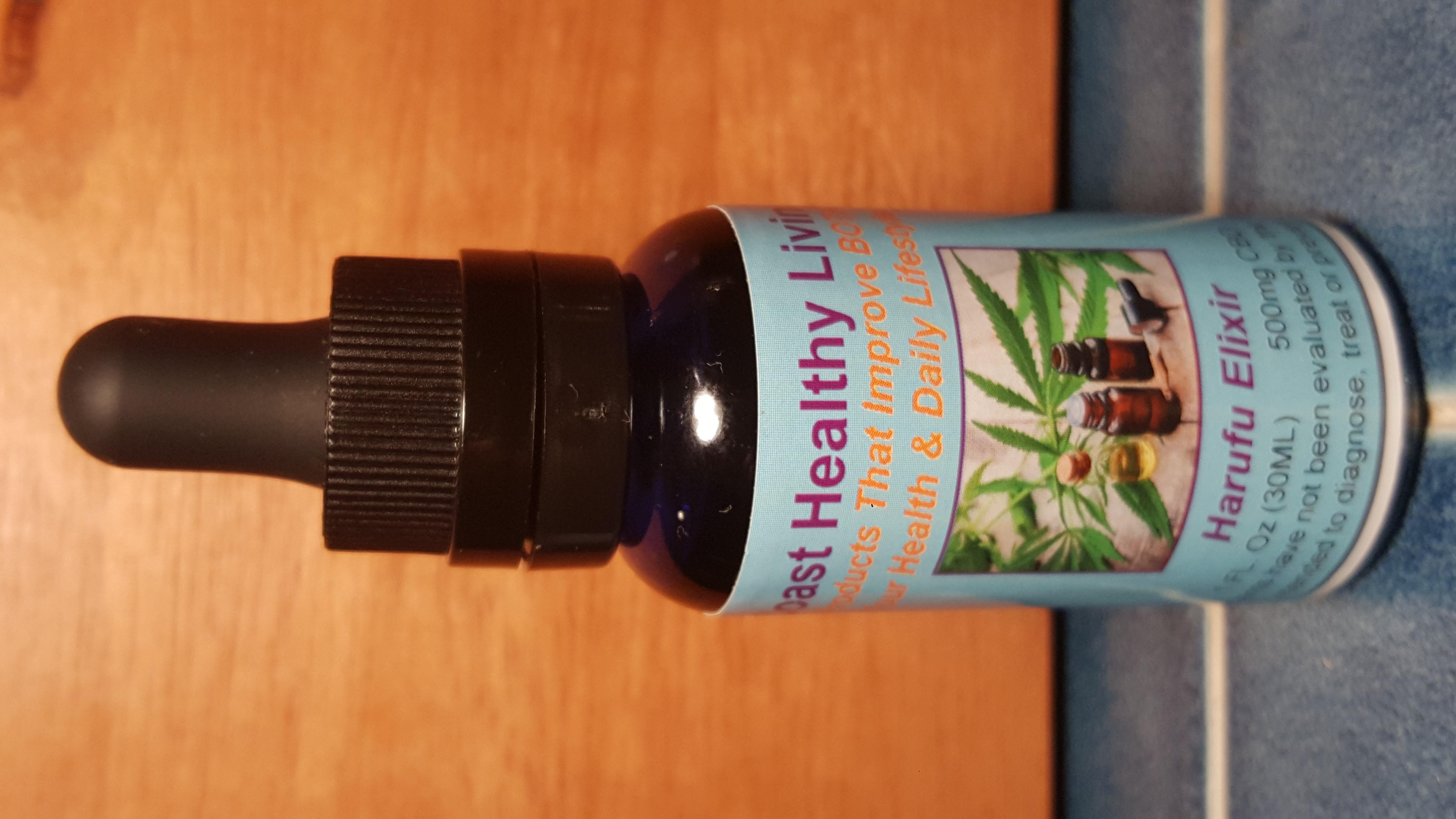 Harufu CBD Oil Elixir