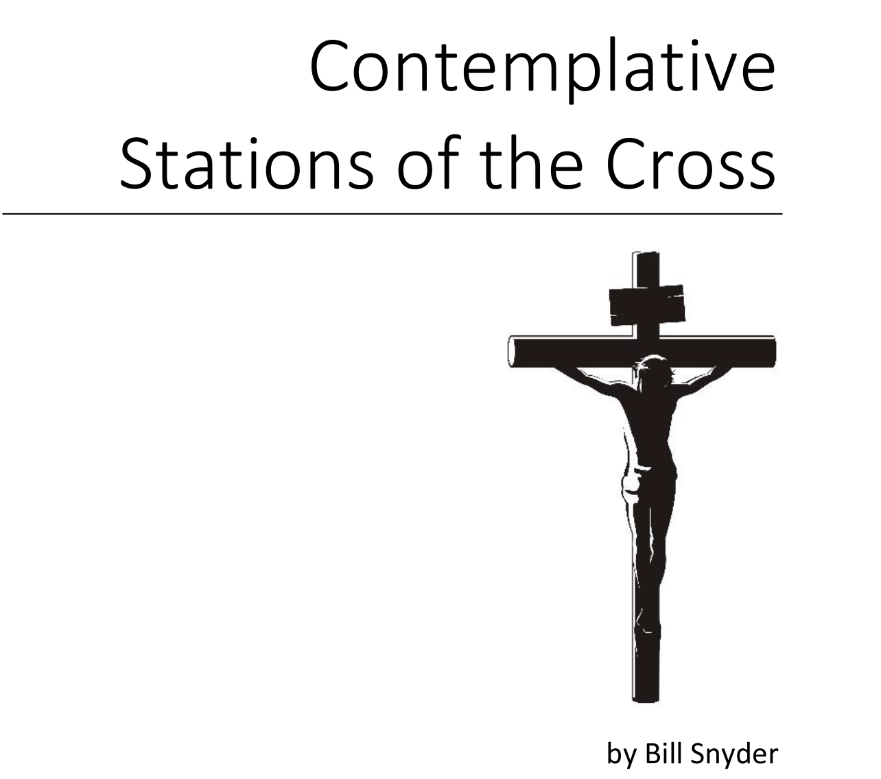 Contemplative Stations of the Cross