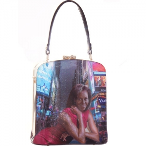 (On Back Order) Highend Michelle Obama Oblong Purse