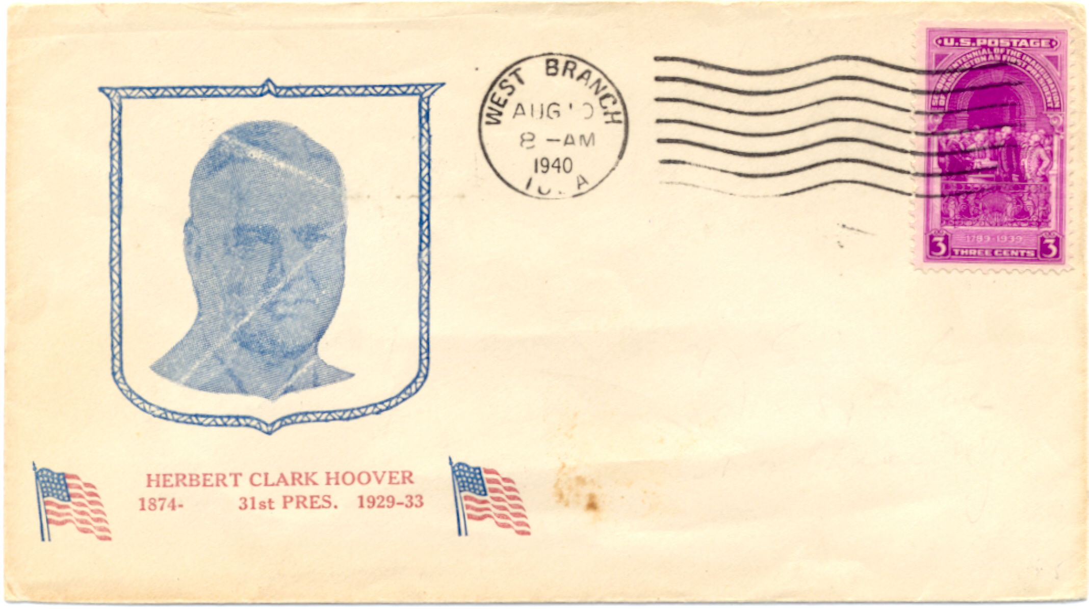 Hoover Birthday Cover #3