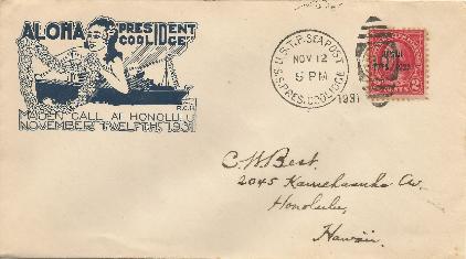 USS Coolidge 31-11-12 Cruise