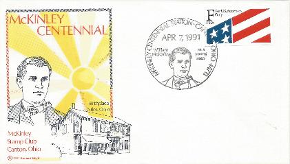 McKinley 91-04-07 Special Event Cover #8