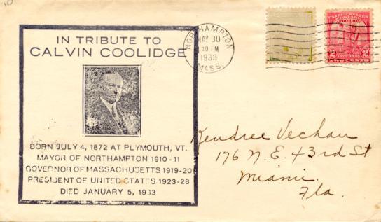 Coolidge 33-05-30 Memorial #2