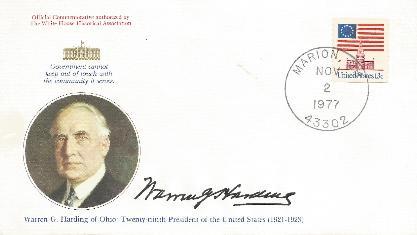 Harding 77-11-02 Birthday