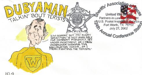 Dubyaman cartoon #4