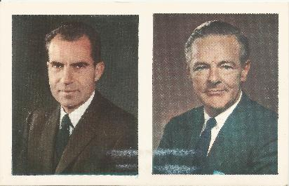1960 Nixon/Lodge postcard