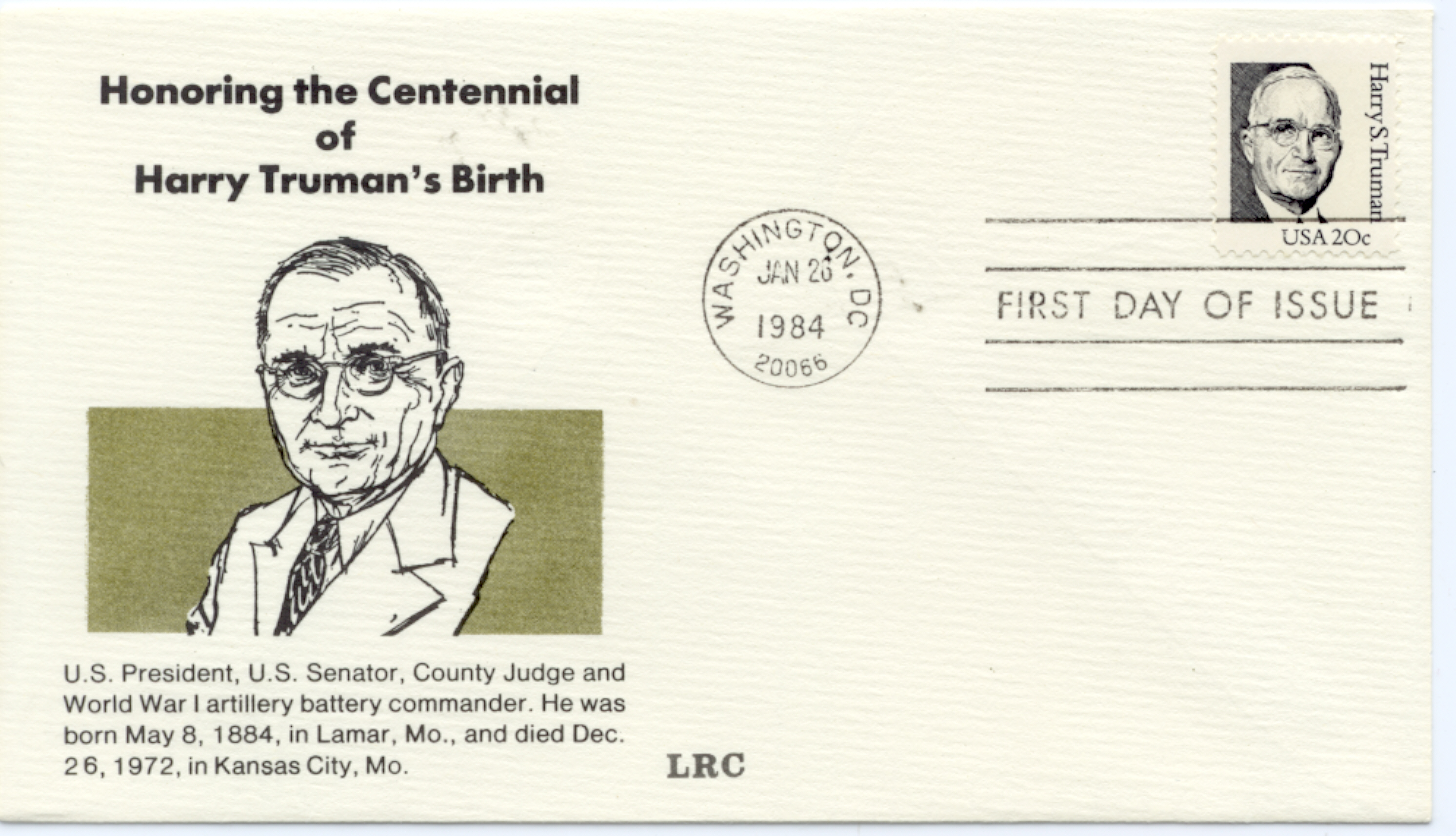 HST Definitive FDC #18