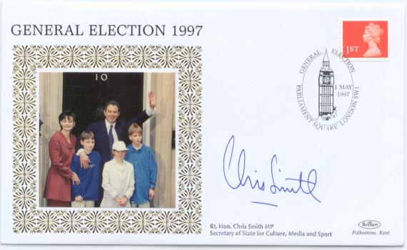 1997 General Election Chris Smith signed