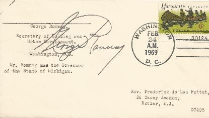George Romney - HUD Secretary
