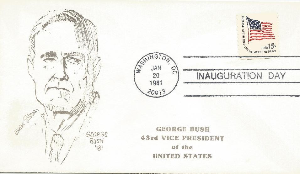 vGHB-18 Bush Inaugural Stautter