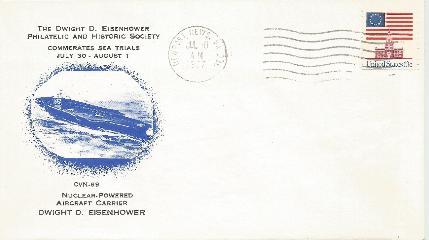 DDESEC 77-07-30-1 CVN 68 Sea Trials