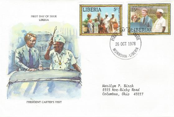 Liberia Carter Visit #3