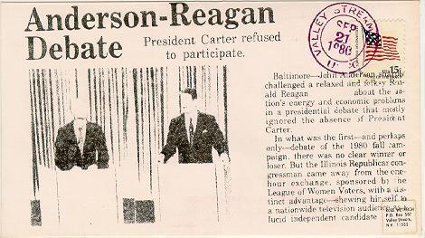 Anderson Reagan Debate