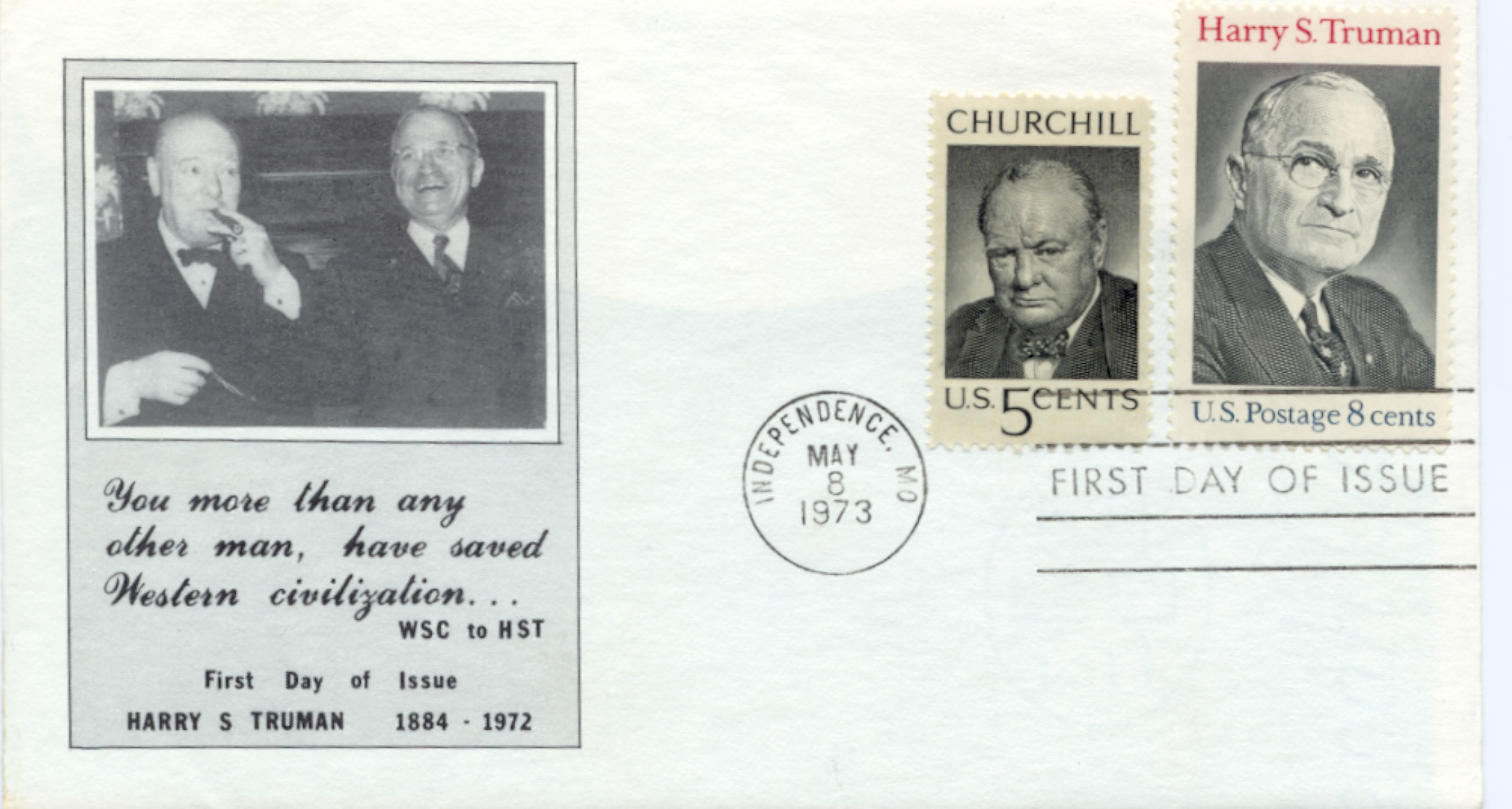 HST Memorial FDC #13