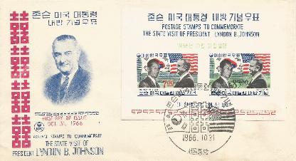Korea 10-31-66 LBJ Visit to Korea