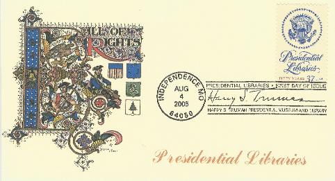 Presidential Library FDC