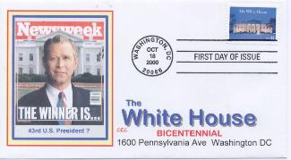 White House FDC #2 Newsweek