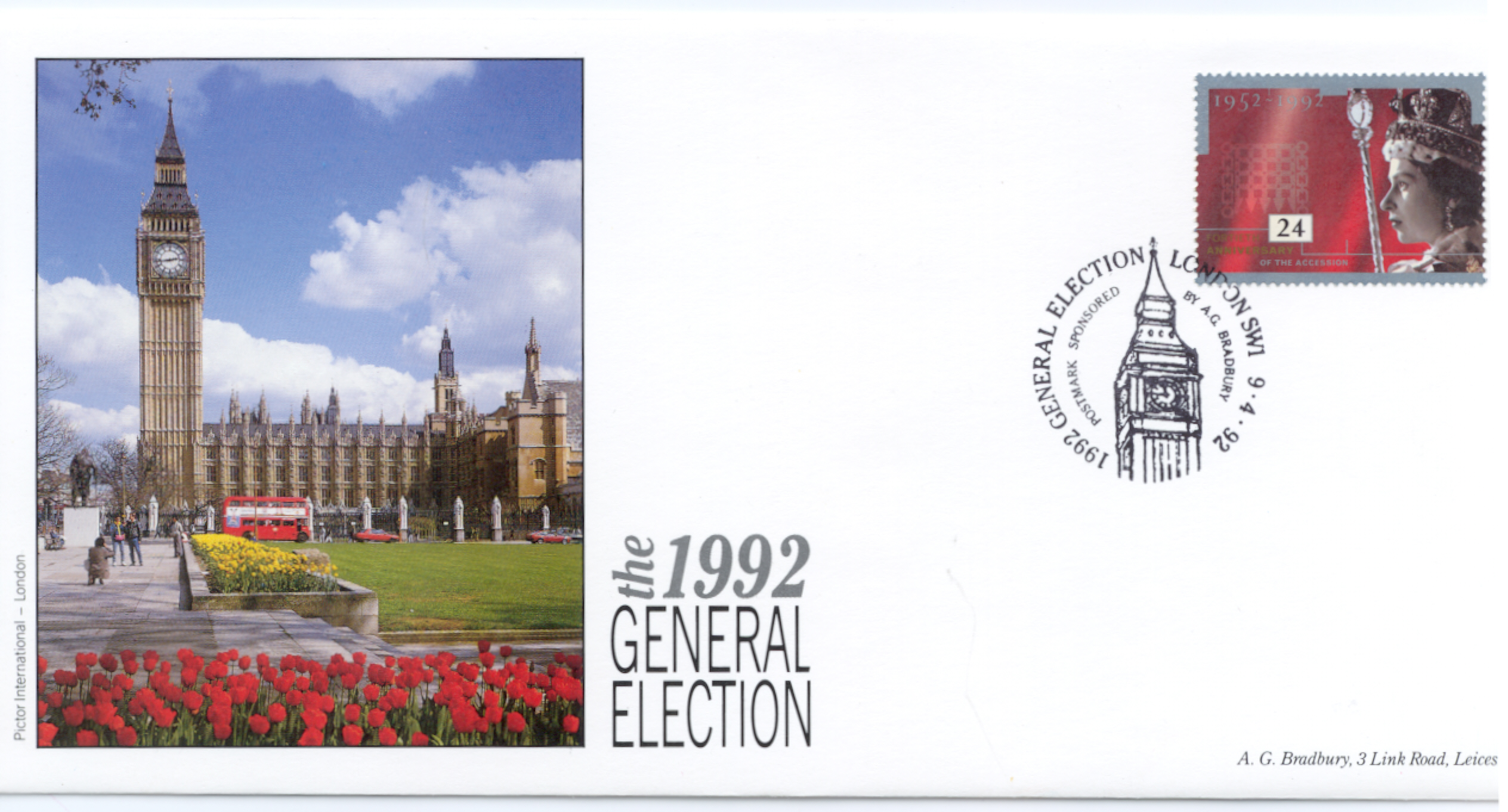 1992 General Election cover