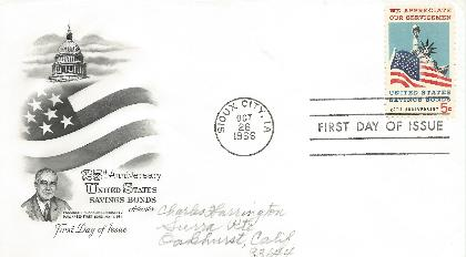 66-10-26 US Savings Bond FDC #2
