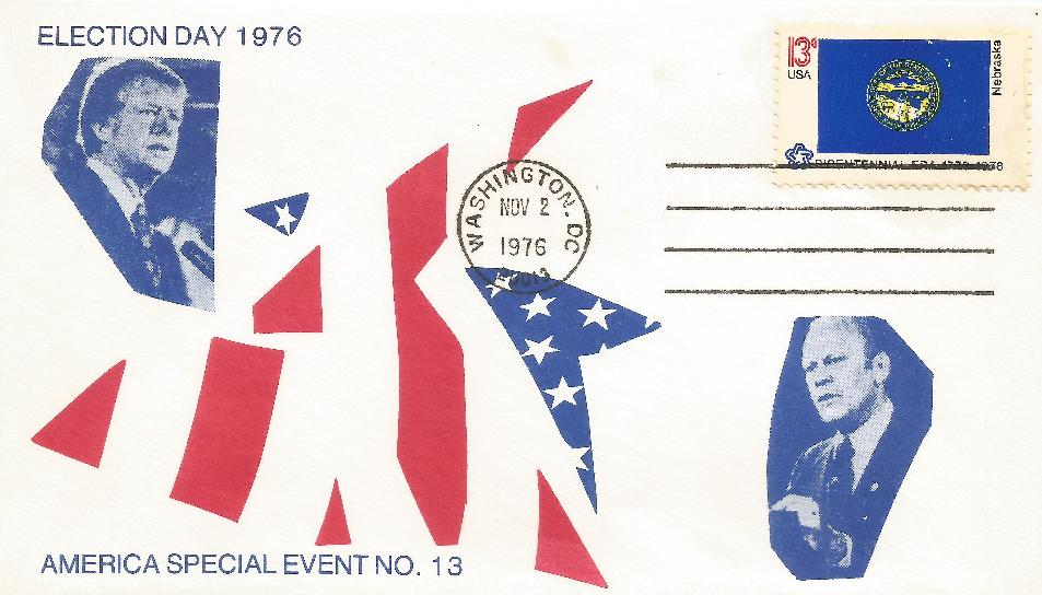 76-11-02 Election Day Cover e76-04