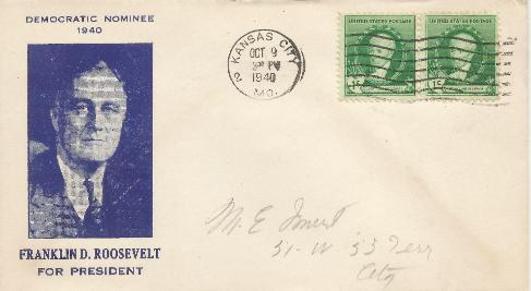 Roosevelt for President