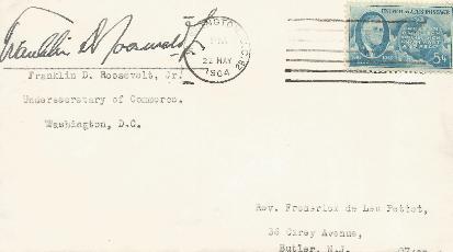 Franklin Roosevelt Jr - Son