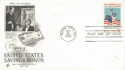 66-10-26 US Savings Bond FDC #1