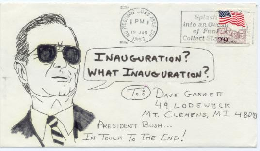 Inauguration? What Inauguration?
