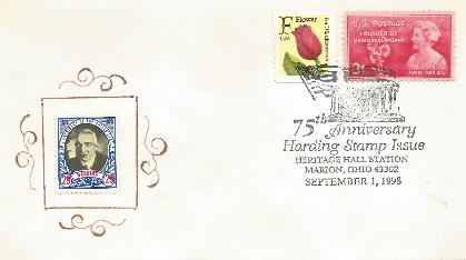 Harding 98-09-01 Stamp Anniversary