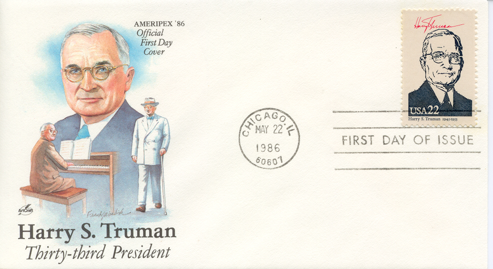Ameripex Presidents Artcraft Color FDC
