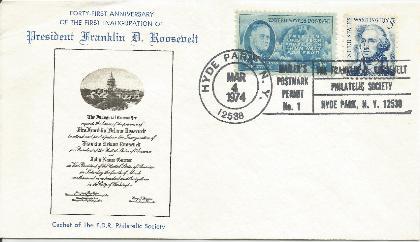 74-03-04 FDR Inauguration Anniv