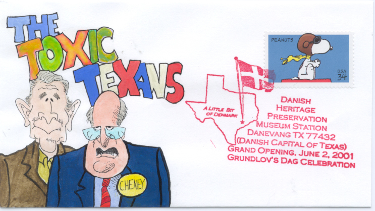 Toxic Texans cartoon