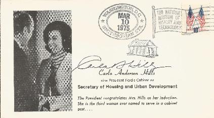 Carla Hills - HUD Secretary